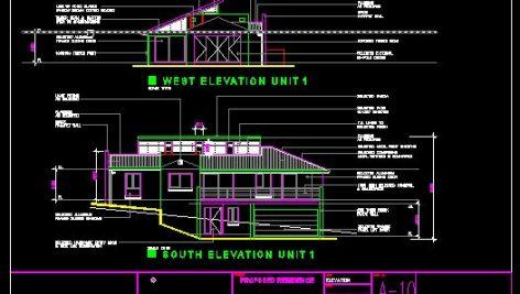 دانلود نقشه ساختمانی دوبلکس شیروانی(پروژه آماده ساخت معماری)