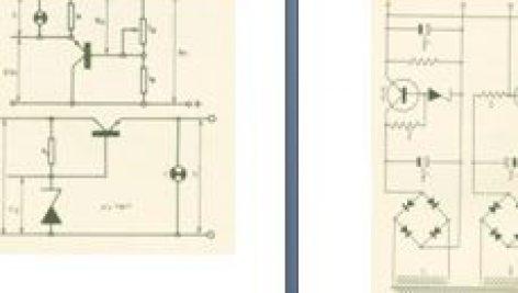مدار منبع تغذیه تثبیت شده HT و BT (ولتاژ زیاد و ولتاژ کم)