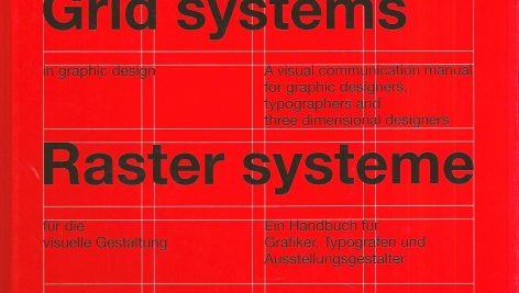 کتاب سیستم های شبکه ای در طراحی های گرافیکی | Grid systems in graphic design