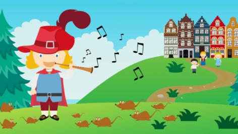 دانلود داستان صوتی انگلیسی فلوتزن رنگارنگ | The Pied Piper