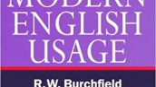 -The New Fowler's Modern English Usageفرهنگ لغت انگلیسی فاولر