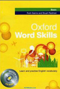 """معرفی و دانلود کتاب زبان """"oxford word skills basic"""""""