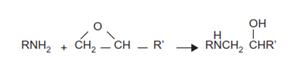 واکنش اپوکسی-آمین اولیه