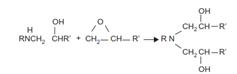 واکنش اپوکسی-آمین ثانویه