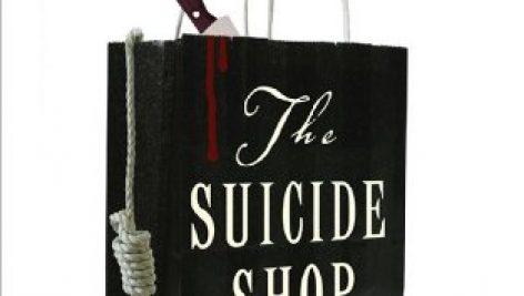معرفی و دانلود نسخه انگلیسی کتاب مغازه خودکشی | The Suicide Shop