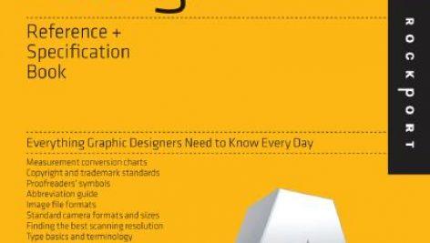 کتاب مرجع و مشخصات طراحی گرافیک