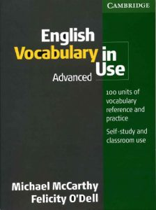 لغات انگلیسی کاربردی | English Vocabulary in Use Advanced