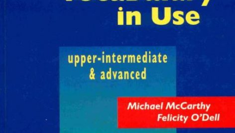 کتاب English Vocabulary in Use Upper-Intermediate & Advanced