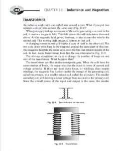 Inductance and Magnetism