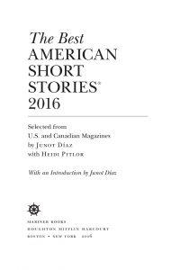 داستان های کوتاه آمریکایی   The Best American Short Stories